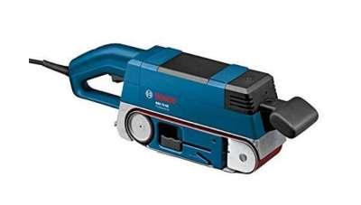 BOSCH 0601274703 - Lijadora de banda GBS 75 AE Set Professional. 750 W. 533 mm de longit ud de banda. 200-330 m/min. Control electrónico. Aspiración de polvo
