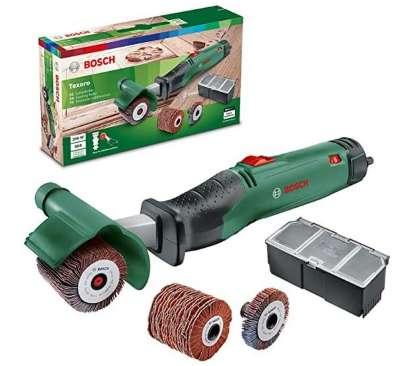 Bosch lijadora de rodillo Texoro 250 W, 3 accesorios, caja de accesorios, en cartón