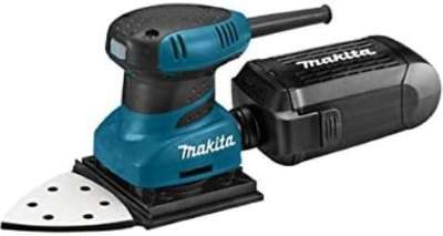 Makita BO4565K Lijadora, 200 W, Noir, Turquoise