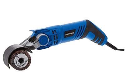 Silverline Tools 806145 Satinadora, 60 mm, 420 W, azul