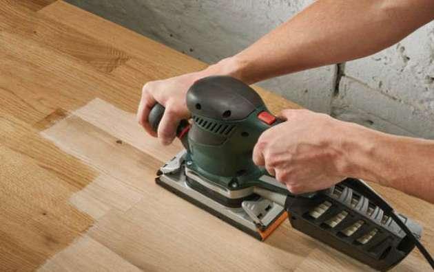 como lijar madera